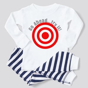 Hit Me! I Dare Ya! Toddler Pajamas