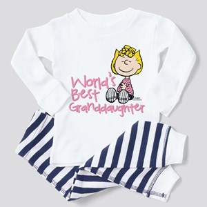 World's Best Granddaughter Toddler Pajamas