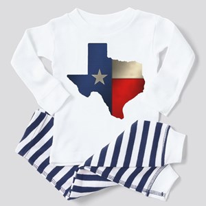State of Texas Toddler Pajamas