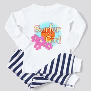Surfer Girl Toddler Pajamas