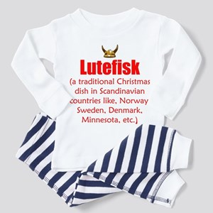 Lutefisk Toddler Pajamas