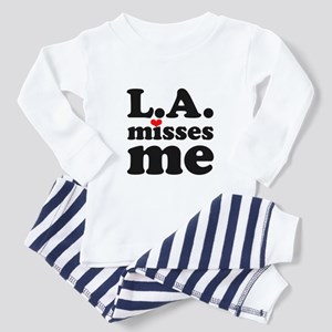 LA Misses Me Toddler Pajamas