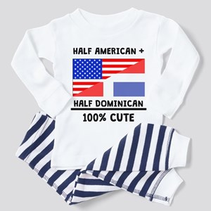 Half Dominican 100% Cute Pajamas