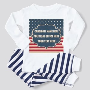 Personalized USA President Toddler Pajamas