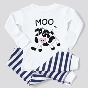 Moo Cow Toddler Pajamas