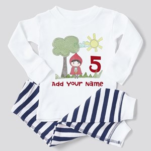 Little Red Riding Hood Birthday Toddler Pajamas