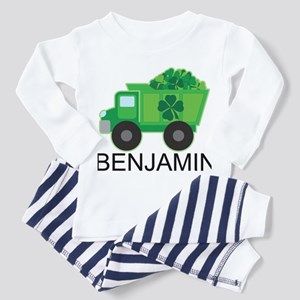 Personalized St Patricks Day Irish Truck Pajamas