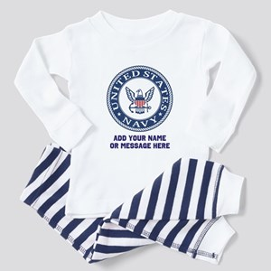 US Navy Symbol Personalized Pajamas
