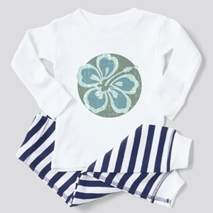 Beach Flower Toddler Pajamas