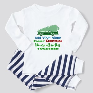 Personalized Griswold Christmas Toddler Pajamas