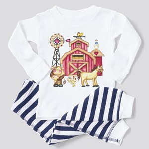 Barnyard Animals Toddler Pajamas
