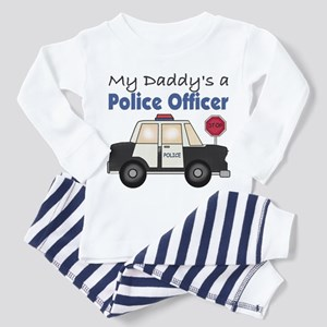 My Daddy's A Police Officer Toddler Pajamas