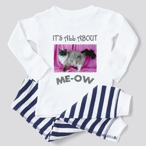 All About ME-OW Ragdoll Cat Toddler Pajamas