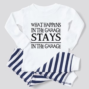 STAYS IN THE GARAGE Toddler Pajamas