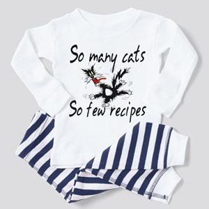 So Many Cats Toddler Pajamas