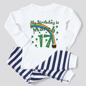 St. Patrick's Day March 17th Birthday Toddler T-Sh