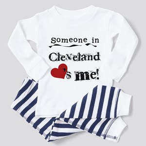 Cleveland Loves Me Toddler Pajamas
