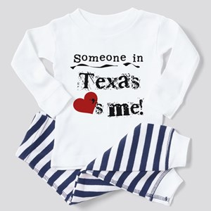 Someone in Texas Toddler Pajamas