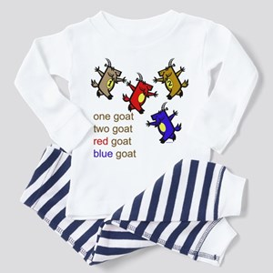 Red Goat Blue Goat Toddler Pajamas
