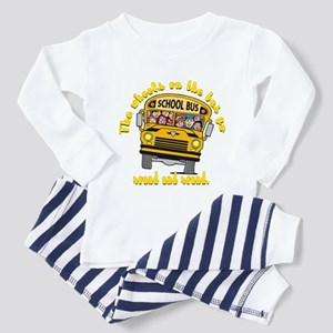School Bus Kids Toddler Pajamas