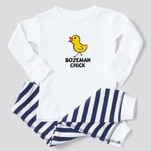 Bozeman Chick Toddler Pajamas