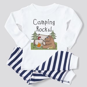 Bear Camping Rocks Toddler Pajamas