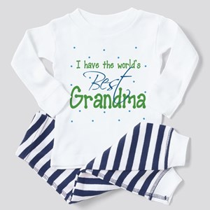 I have the World's Best Grandma Toddler Pajamas