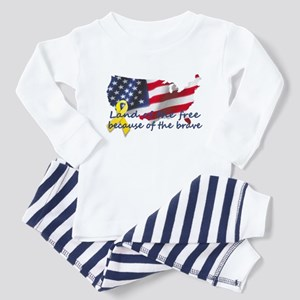 Land of the free ... Toddler Pajamas