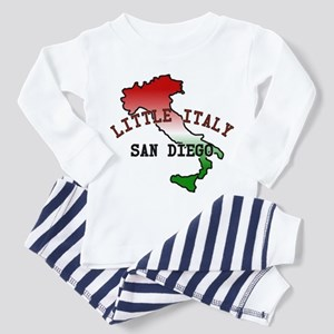 Little Italy San Diego Toddler Pajamas