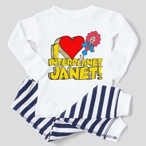 I Heart Interplanet Janet! Toddler Pajamas