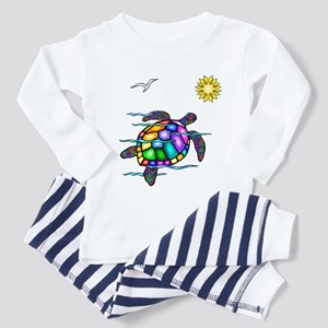 Sea Turtle #1 Toddler Pajamas