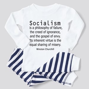 WINSTON CHURCHILL SOCIALISM Toddler Pajamas