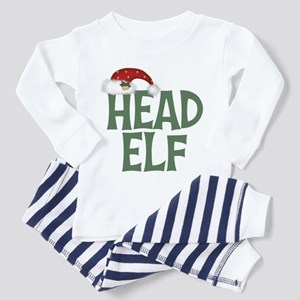 Head Elf Toddler Pajamas