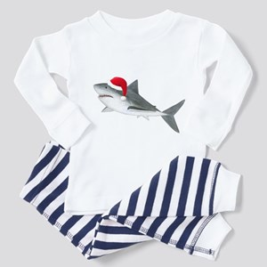 Christmas - Santa - Shark Toddler Pajamas