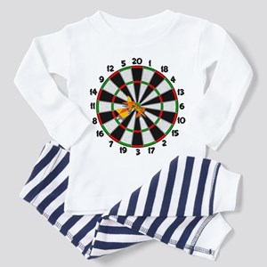 Dartboard Bullseye Toddler Pajamas