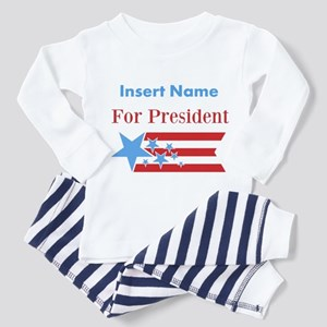 Personalized For President Toddler Pajamas