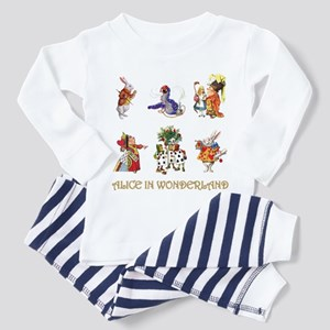 Alice and Friends in Wonderland Toddler Pajamas