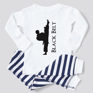 Black Belt Toddler Pajamas