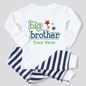 Personalized Big Brother Toddler Pajamas