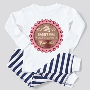 Personalized Grams Girl Pajamas