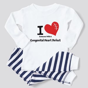 I Heart Someone with a CHD Pajamas