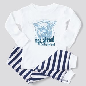Not Afraid of the Big Bad Wolf Toddler T-Sh