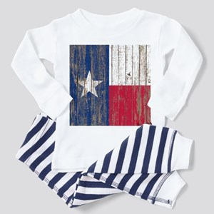 barn wood Texas Flag Pajamas