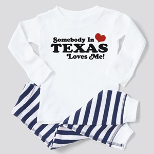 Somebody in Texas Loves Me Toddler Pajamas