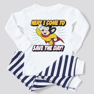 Here I Come To Save The Day Toddler Pajamas