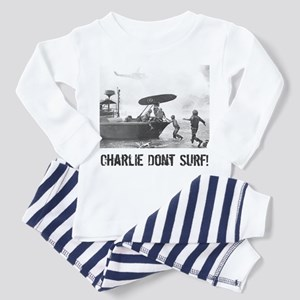 """Charlie Don't Surf"" Toddler Pajamas"