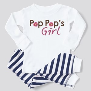 Pop Pop's Girl Toddler Pajamas