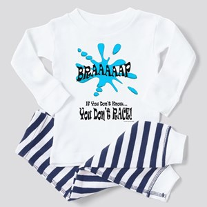 Braaaaap! Blue Toddler Pajamas