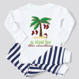 On Island Time Toddler Pajamas
