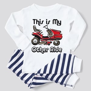 Mower My Other Ride Toddler Pajamas